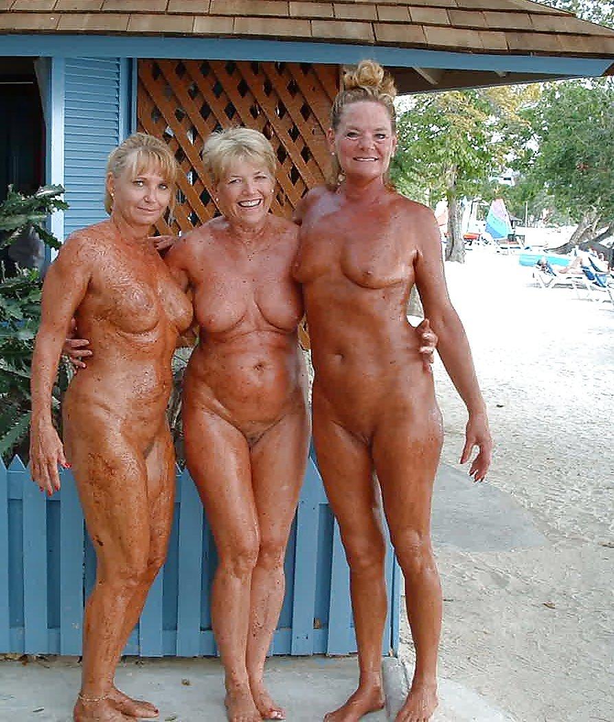 Older Woman Nudist